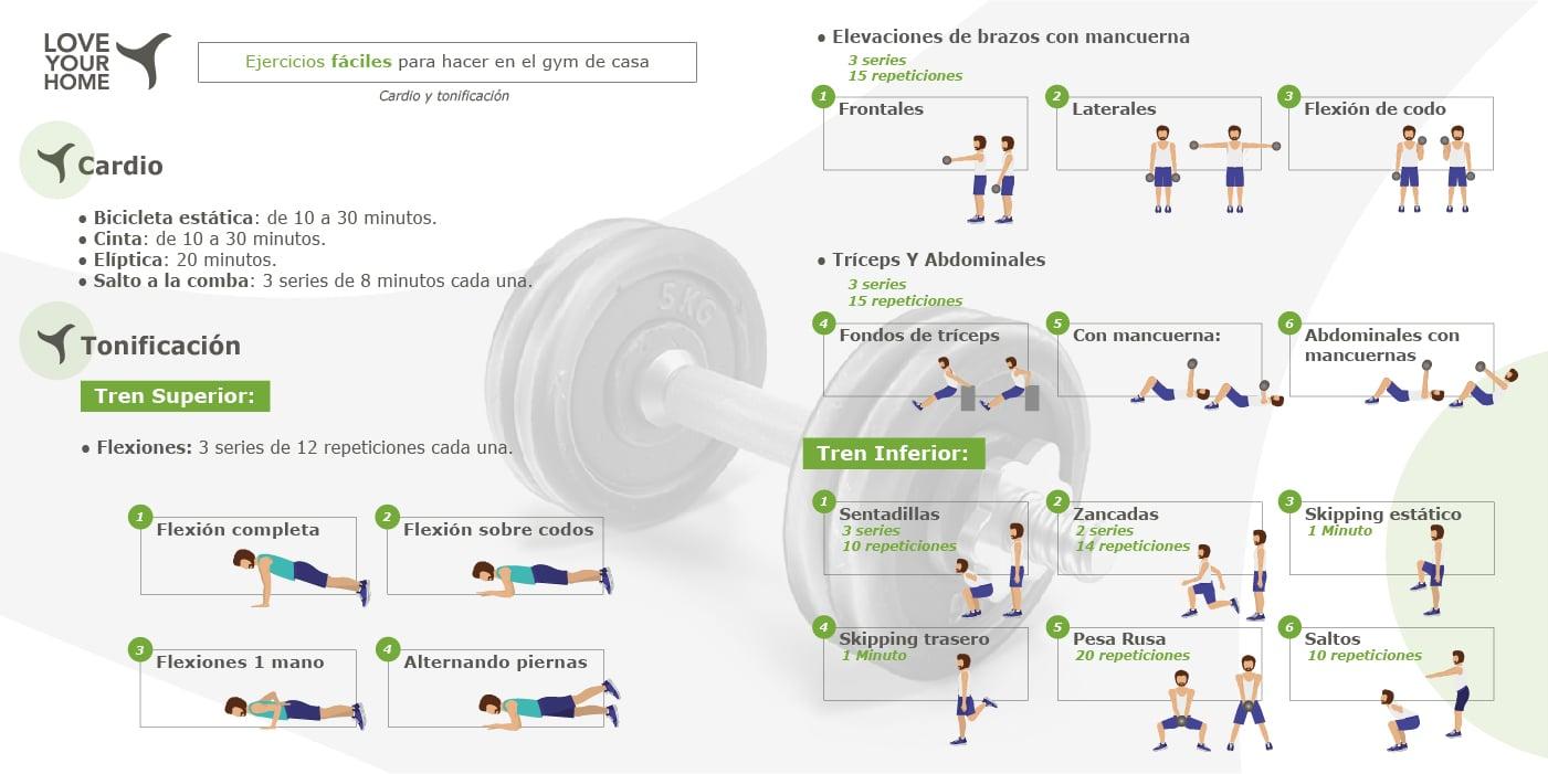 Como construir seu corpo em casa?